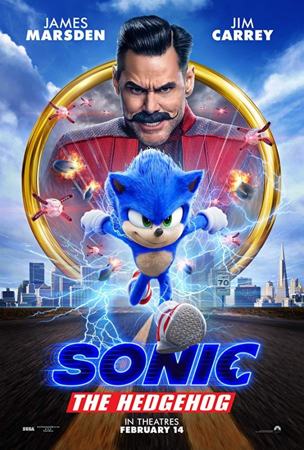 Sonic the Hedgehog Runs Before Stretching