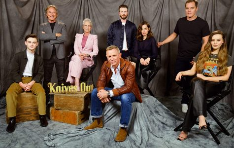 The cast of Knives Out brings together the likes of Chris Evans, and Daniel Craig. Which means technically, James Bond and Captain America are in the same film. Photo courtesy of Getty Images
