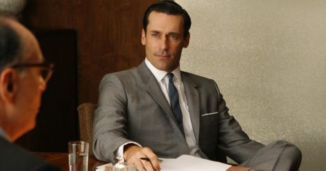 Don Draper, the lead of Mad Men