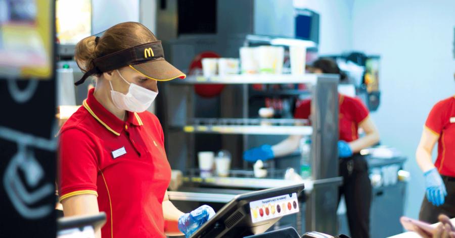 McDonald's is one of the world's largest employers. Photo courtesy of Restaurant Business Magazine