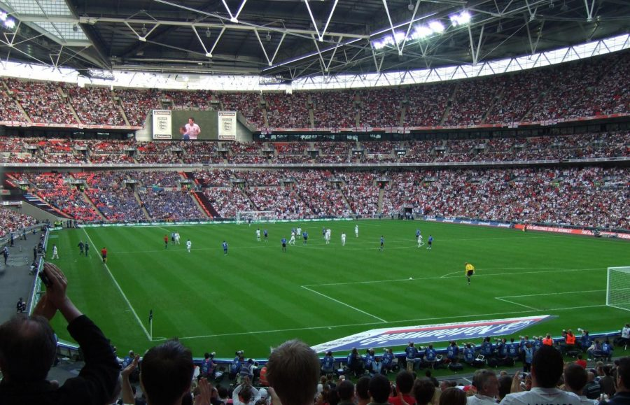 The proposal of a super league was protested by many soccer fans, as it would have fundamentally changed the nature of the sport. Photo courtesy of Wikimedia Commons.